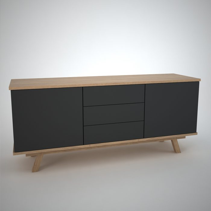 contemporary sideboard in