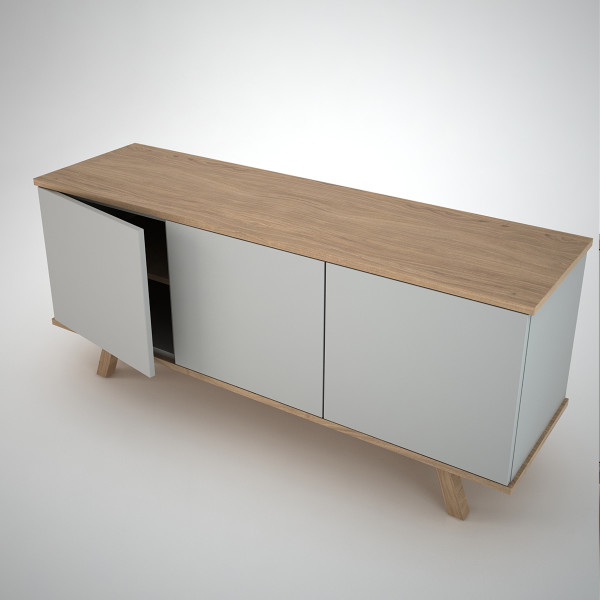 ottawa sideboard 3 clay join contemporary modern furniture. Black Bedroom Furniture Sets. Home Design Ideas