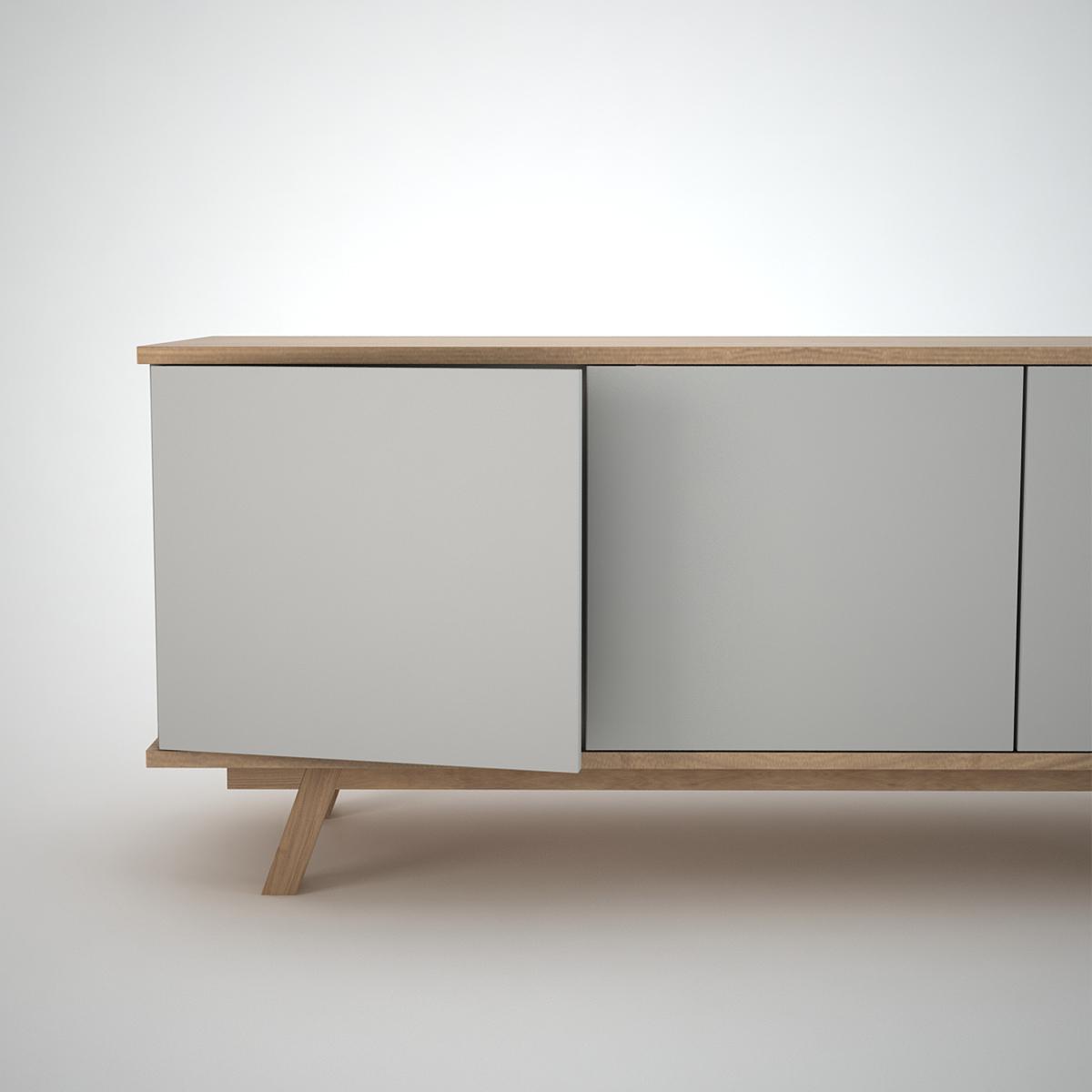Ottawa sideboard 3 clay join furniture for Sideboard tess 03
