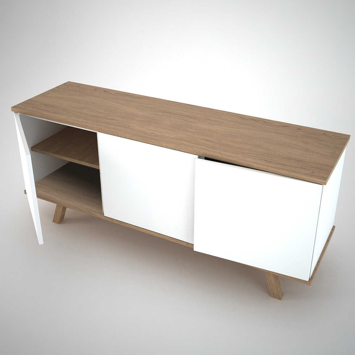 modern white furniture ottawa sideboard 3 white join furniture 12647