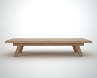 retro Oak coffee table - Ottawa by join furniture