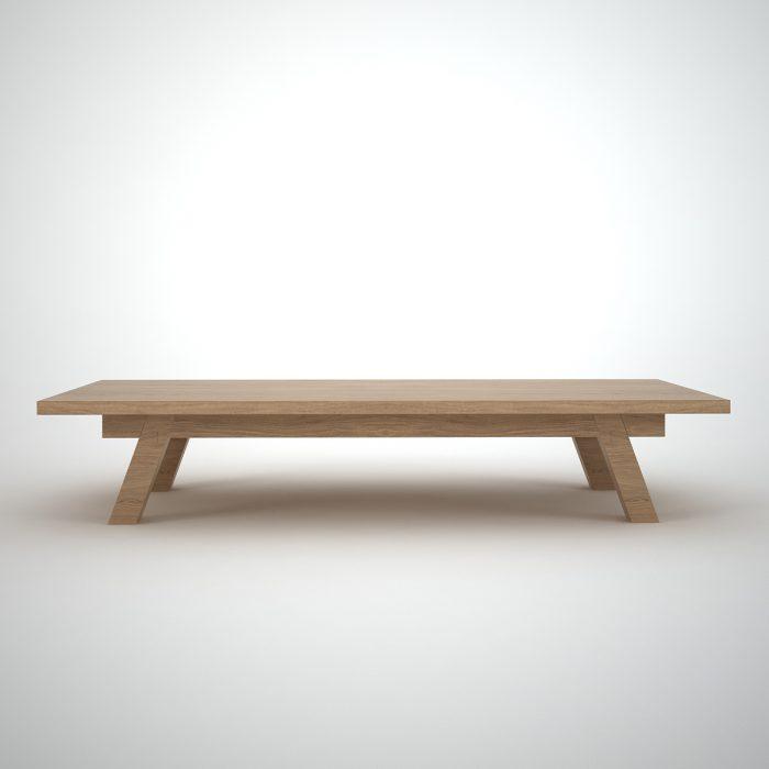 retro Oak coffee table - Ottawa by join furniture