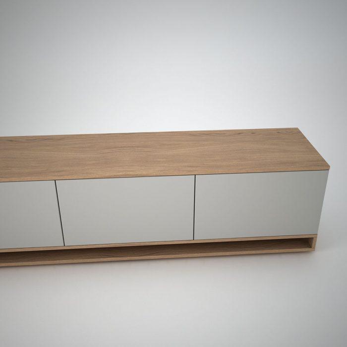 harlem low oak sideboard cley