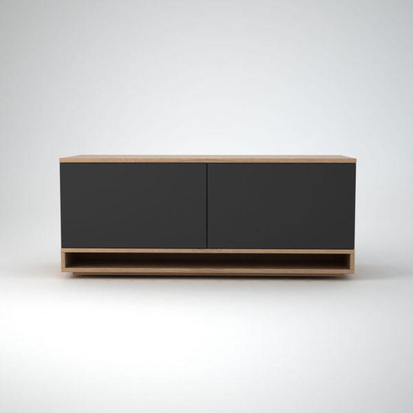 oak low modern sideboard - harlem