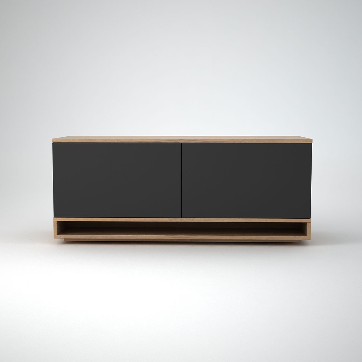oak low modern sideboard - harlem