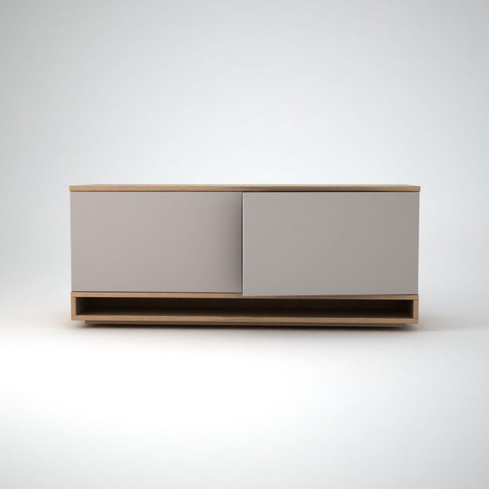 Modern Low Sideboard clay - harlem