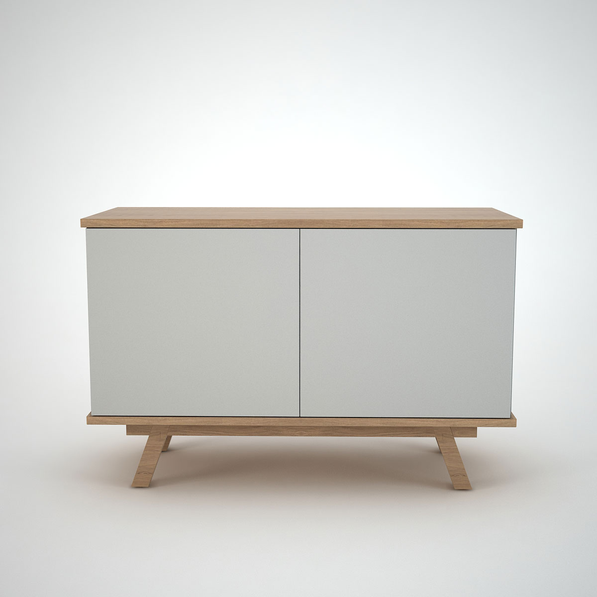 Comtemporary Sideboard clay Ottawa Oak